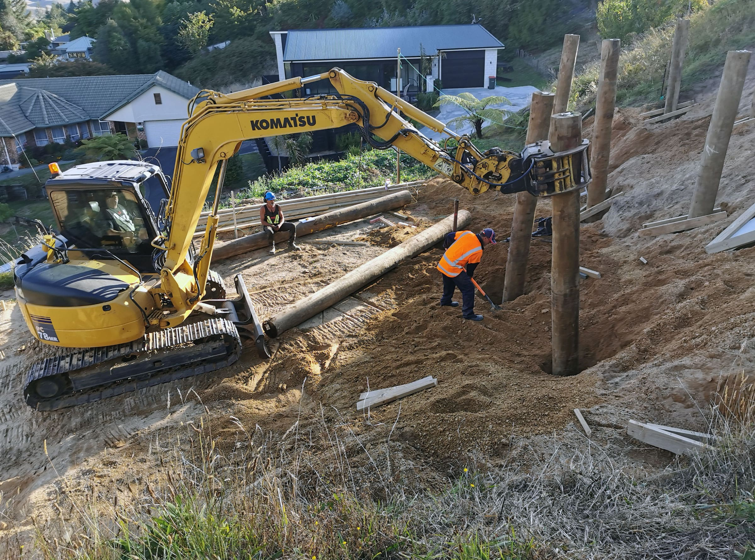 McGaffin Drilling, Digging Holes and Driving Poles